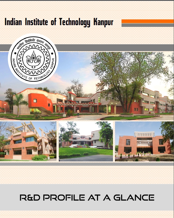 Conceptualized, Designed the annual brochure for Dean R&D at IIT Kanpur.